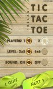 In addition to the game Ski safari: Adventure time for Android phones and tablets, you can also download Tic Tac Toe for free.