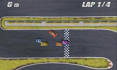 Screenshots of the Tilt Racing for Android tablet, phone.