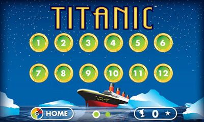 Screenshots of the Titanic for Android tablet, phone.