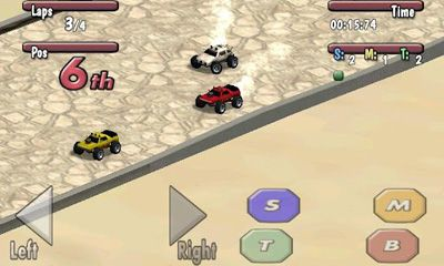 Screenshots of the Tiny Little Racing: Time to Rock for Android tablet, phone.