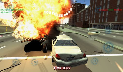 Screenshots of the Track racing: Pursuit online for Android tablet, phone.