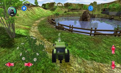 Screenshots of the Tractor more farm driving for Android tablet, phone.