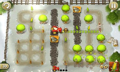 Tractor Trails - Android game screenshots. Gameplay Tractor Trails.