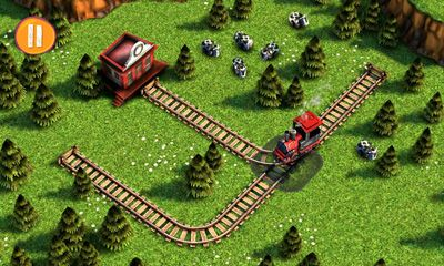 Screenshots of the Train Crisis HD for Android tablet, phone.