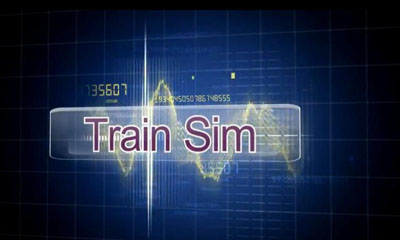 Screenshots of the Train Sim for Android tablet, phone.