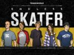 In addition to the game Third Blade for Android phones and tablets, you can also download Transworld endless skater for free.