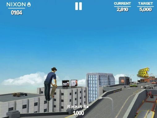 Screenshots of the Transworld endless skater for Android tablet, phone.