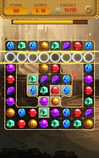 Screenshots of the Treasures of Cleopatra for Android tablet, phone.
