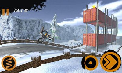 Screenshots of the Trial Xtreme 2 HD Winter for Android tablet, phone.
