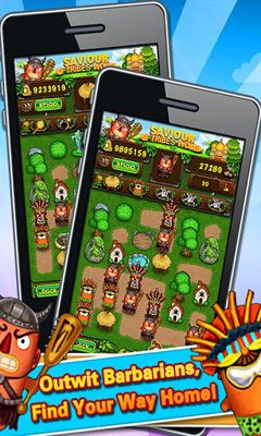 Screenshots of the Tribal Saviour for Android tablet, phone.