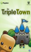 In addition to the game Puzzle trooper for Android phones and tablets, you can also download Triple Town for free.