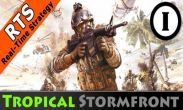 In addition to the game  for Android phones and tablets, you can also download Tropical Stormfront for free.