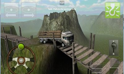 Screenshots of the Truck Parking 3D Pro Deluxe for Android tablet, phone.