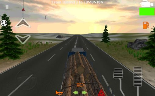Screenshots of the Truck simulator 2014 for Android tablet, phone.