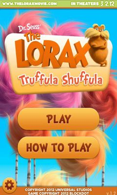 Screenshots of the Truffula Shuffula The Lorax for Android tablet, phone.