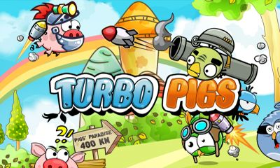 Screenshots of the Turbo Pigs for Android tablet, phone.