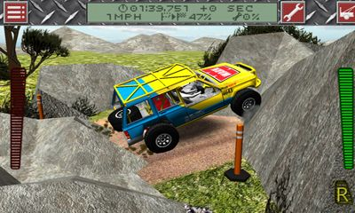 Screenshots of the ULTRA4 Offroad Racing for Android tablet, phone.