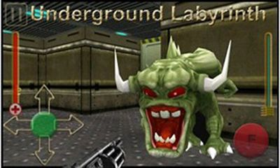 Screenshots of the Underground labyrinth for Android tablet, phone.