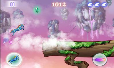 Screenshots of the Unicorn Dash for Android tablet, phone.