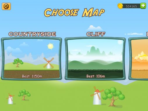 hill racing: Hill climb - Android game screenshots. Gameplay Up hill