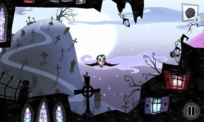 Screenshots of the V for Vampire for Android tablet, phone.
