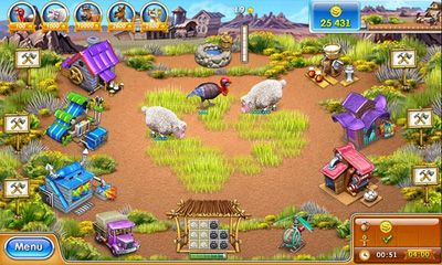 Screenshots of the Farm Frenzy 3 for Android tablet, phone.