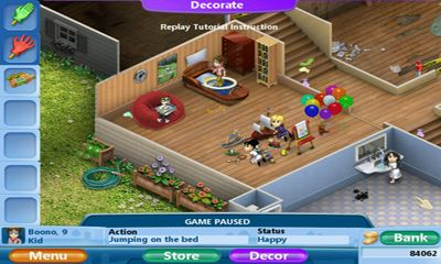 Families 2 - Android game screenshots. Gameplay Virtual Families 2