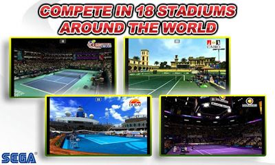 Screenshots of the Virtual Tennis Challenge for Android tablet, phone.