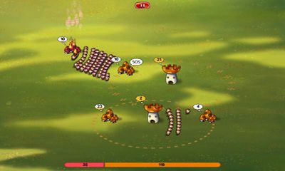 Screenshots of the Mushroom war for Android tablet, phone.