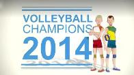 In addition to the game Talking Pierre for Android phones and tablets, you can also download Volleyball champions 3D 2014 for free.
