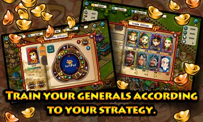 Lords Three Kingdoms - Android game screenshots. Gameplay War Lords