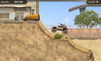 Screenshots of the War Machine Hummer for Android tablet, phone.