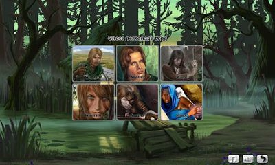 Screenshots of the War of Thrones for Android tablet, phone.