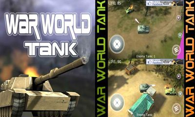Screenshots of the War World Tank for Android tablet, phone.