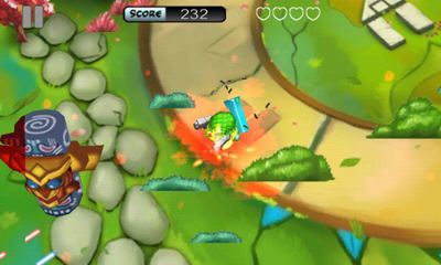 Weapon Chicken - Android game screenshots. Gameplay Weapon Chicken.