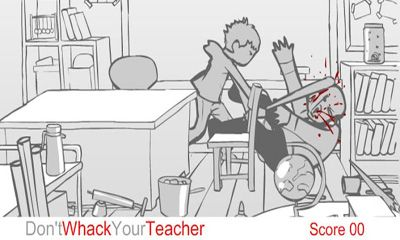 Screenshots of the Whack Your Teacher 18+ for Android tablet, phone.