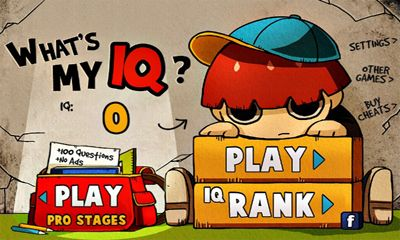 Download What's My IQ PRO Android free game. Get full version of Android apk app What's My IQ PRO for tablet and phone.