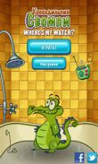 In addition to the game House of Fear for Android phones and tablets, you can also download Where's My Water? for free.