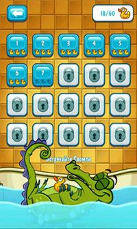 Screenshots of the Where's My Water? for Android tablet, phone.