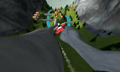 Screenshots of the Wingsuit for Android tablet, phone.