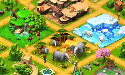 Screenshots of the Wonder Zoo - Animal rescue! for Android tablet, phone.