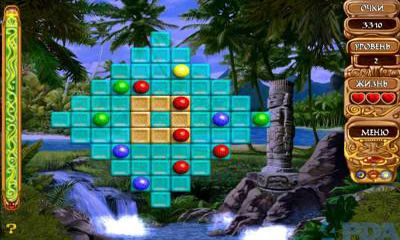 Screenshots of the Wonderlines match-3 puzzle for Android tablet, phone.