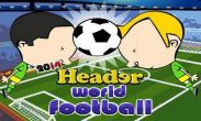 In addition to the game  for Android phones and tablets, you can also download World football 2014. Header world football for free.