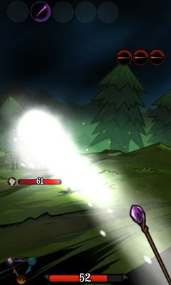 Screenshots of the World of Wizards for Android tablet, phone.