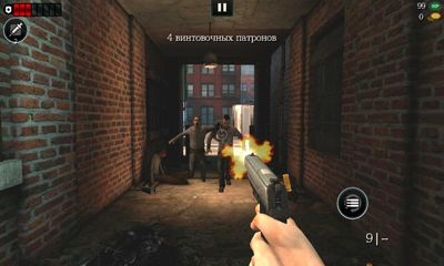 Screenshots of the World War Z for Android tablet, phone.