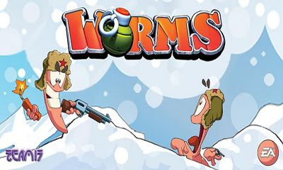 Screenshots of the Worms for Android tablet, phone.