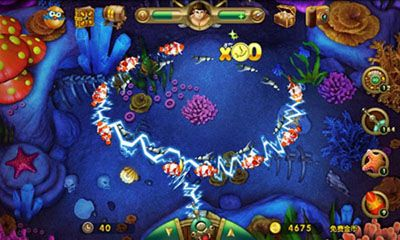 Screenshots of the Wow Fish for Android tablet, phone.