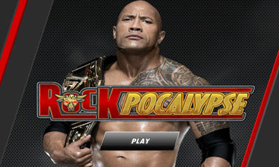 Screenshots of the WWE Presents Rockpocalypse for Android tablet, phone.