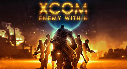 Screenshots of the XCOM: Enemy within for Android tablet, phone.