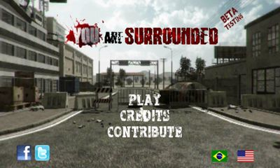 Screenshots of the You Are Surrounded for Android tablet, phone.